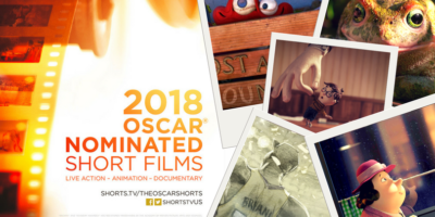 Animated Oscar Shorts Website Header