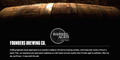 Founders Barrel-Aged Series promotion image