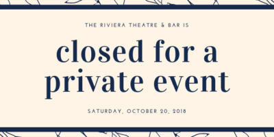 Closed for Private Event