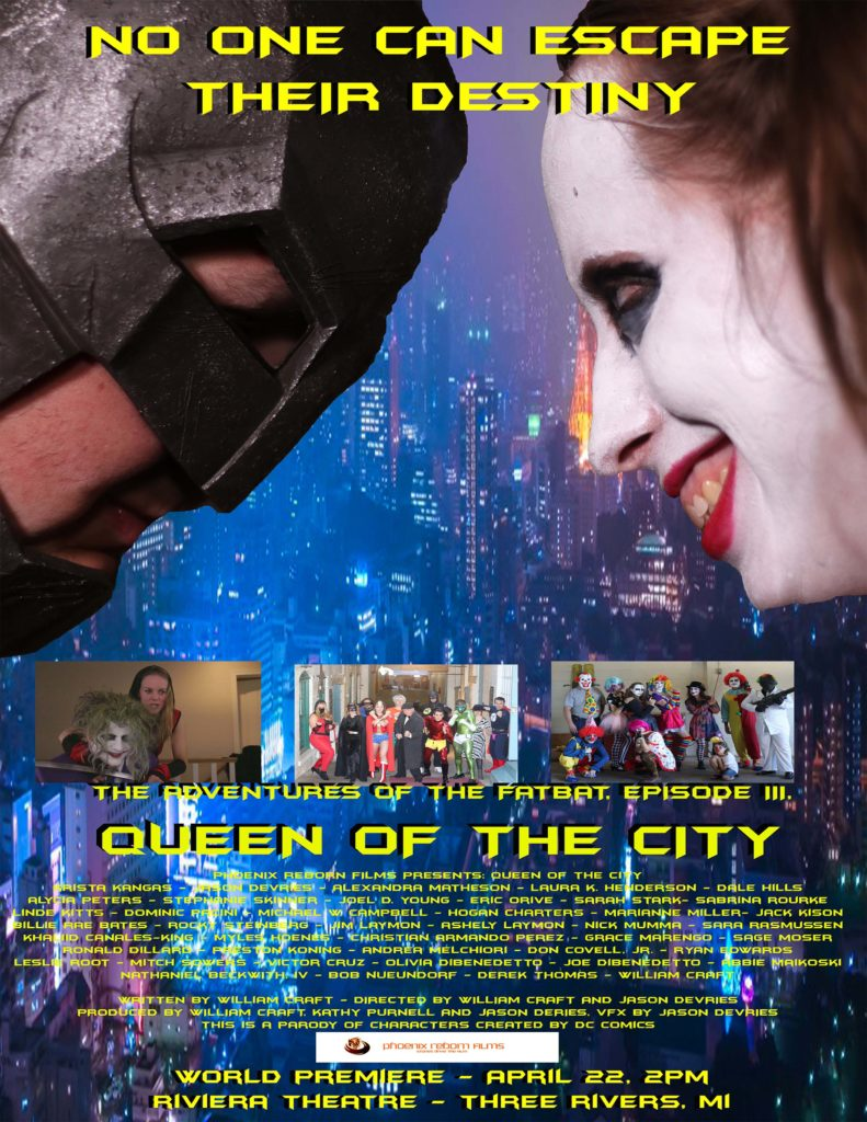 Queen of the City Film Poster