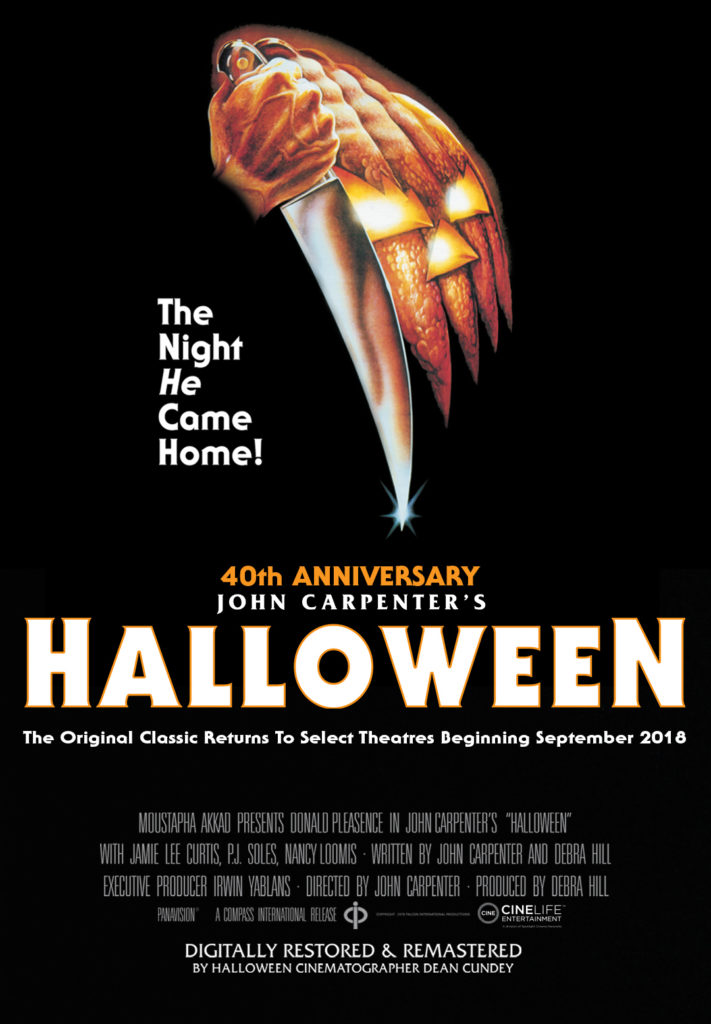 Halloween 1978 Movie Poster.Halloween 1978 Riviera Theatre