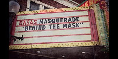 DASAS Masquerade on the marquee