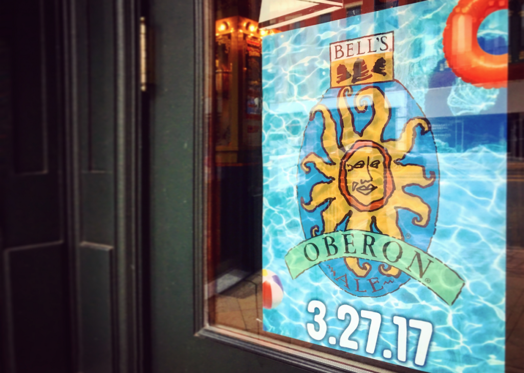 Oberon Release Day Poster