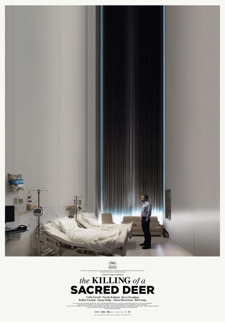 The Killing of a Sacred Deer Film Poster