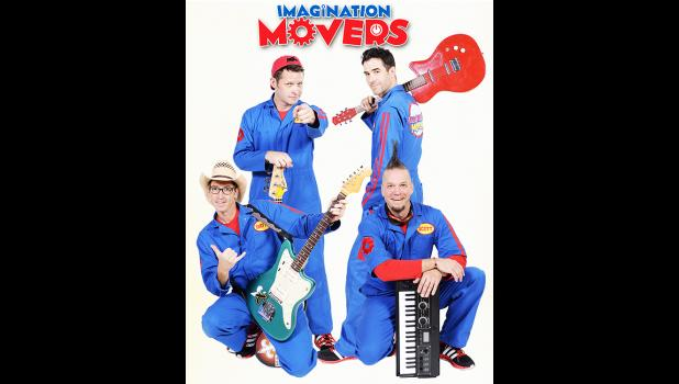 Imagination Movers newspaper article cover image