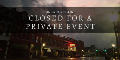 Website Event Banner - Closed (Private Event)