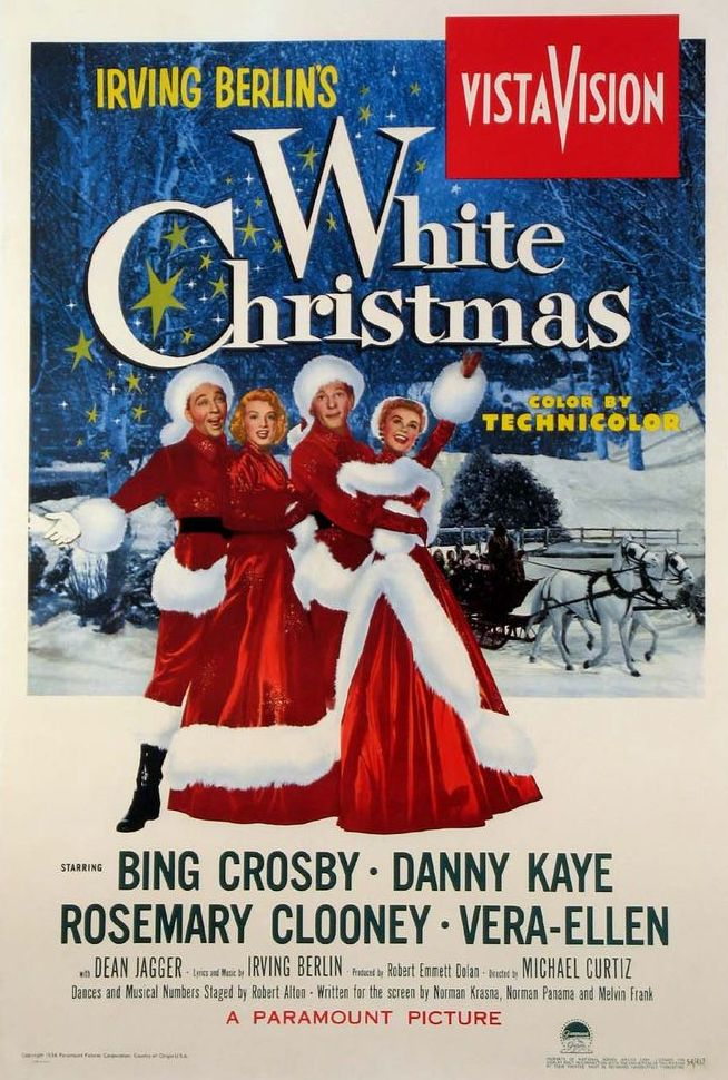 white christmas this perpetual holiday favorite from 1954 stars bing crosby and danny kaye as a song and dance duo whose romantic pursuit of two sisters - Who Wrote The Song White Christmas
